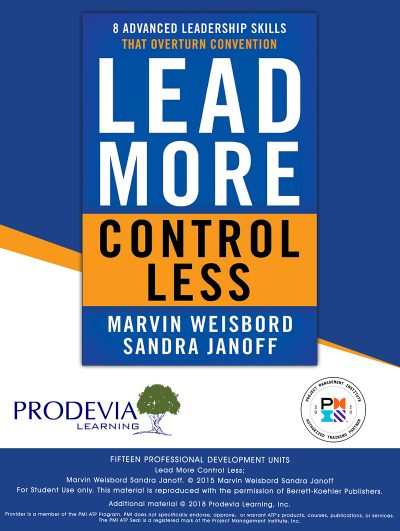 Lead More Control Less