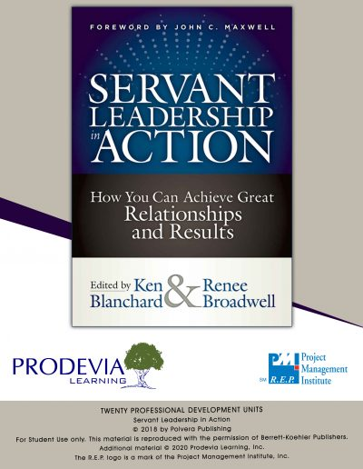 Essentials in Servant Leadership in Action